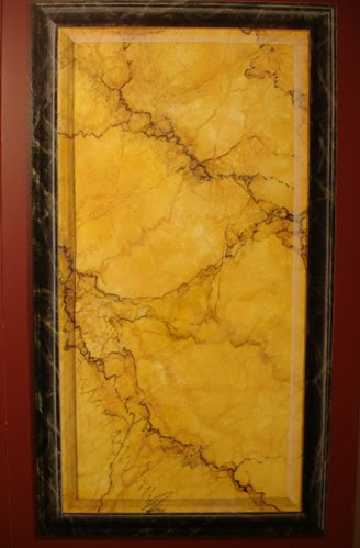 trompe painted marble Art-Faux Naples Fl