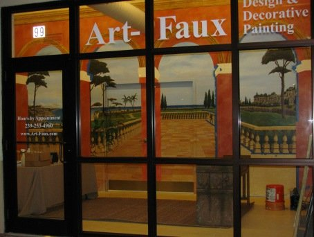 Contact Art-Faux Designs Naples Bonita Faux Finishing and Mural Resource