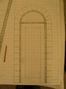 door plan for mural