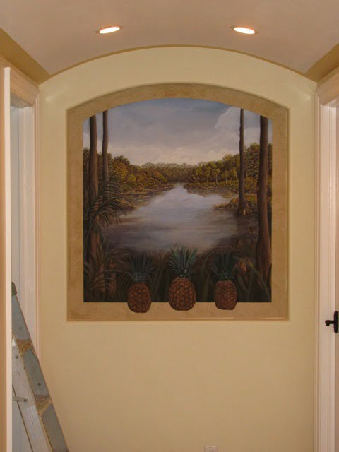 Painting Small Murals, landscapes