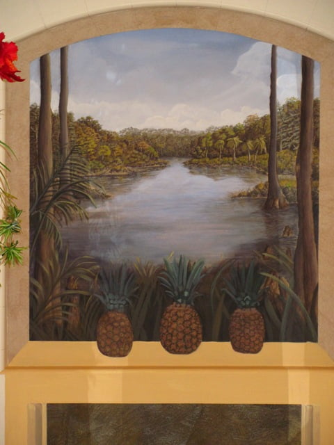Small murals, Florida muralists, How to paint murals