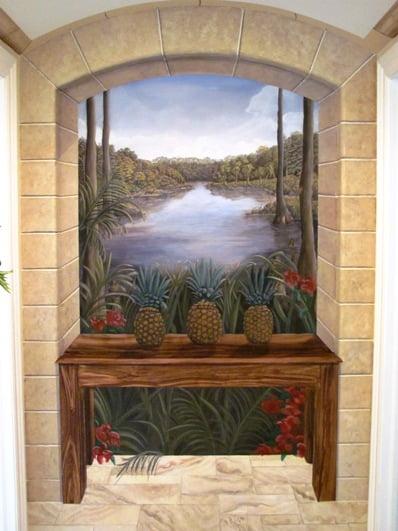 Murals and more Art-Faux Designs Inc Naples/Bonita Springs Fl