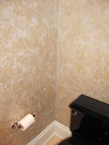 faux finishes for bathrooms