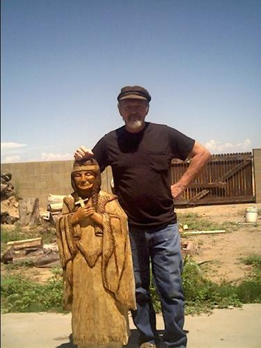 Sculptures, Wooden Indians and Wood Art 1