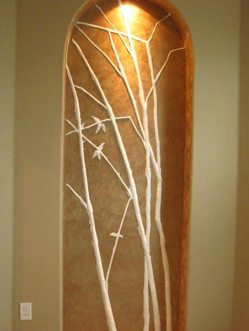 bas relief bamboo Art-Faux Designs Inc