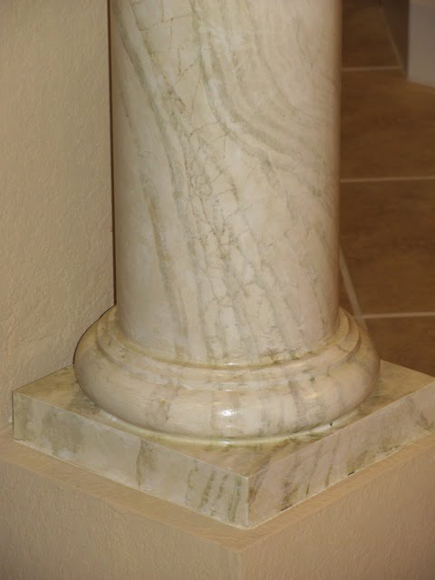 Faux Painting Column Ideas Green Onyx Marble by Art-Faux Designs Naples Fl 239 417 1888