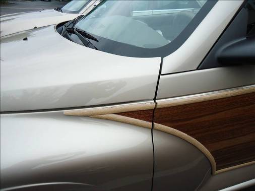 auto body collision repair faux finish wood grain Pine Ridge Coachworks 239 596 3922 
