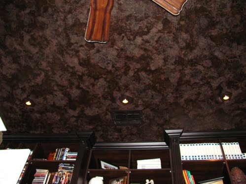 Ceiling Faux Finishing Textures Art-Faux Designs Naples