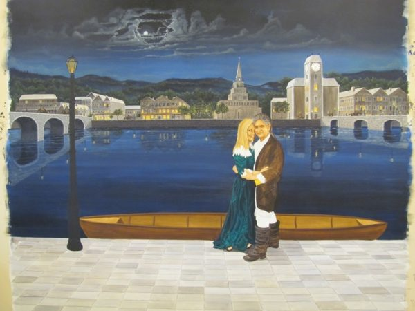 fine art murals and faux finishes by artist Arthur Morehead