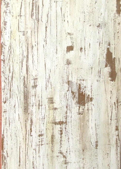 Overglazing of Distressed Faux Wood Art-Faux Blog - Distressed Faux Wood Panels