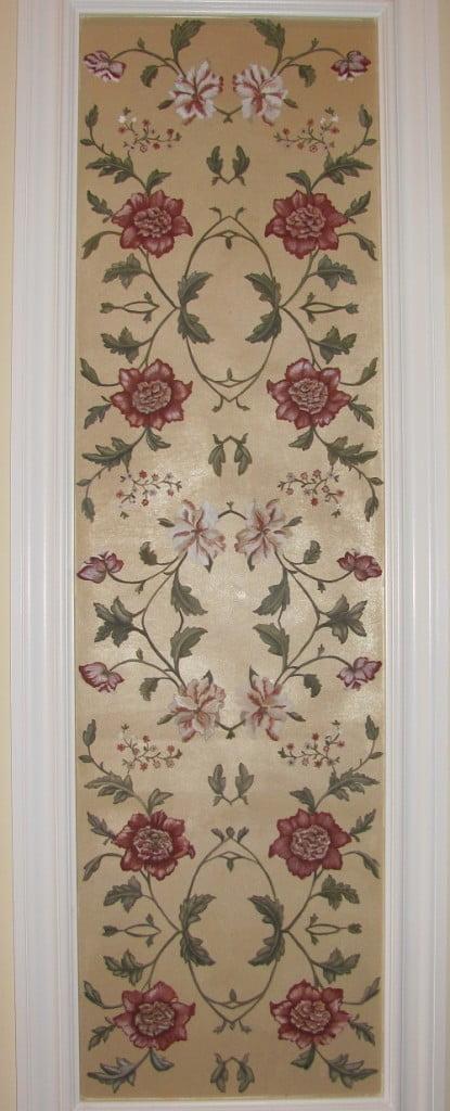 Floral Wall Art Mural Finale by Art-Faux Designs artist Arthur Morehead 239 417 1888