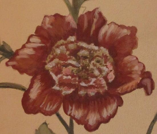 Details Floral Wall Art Mural Naples Fl artist Arthur Morehead