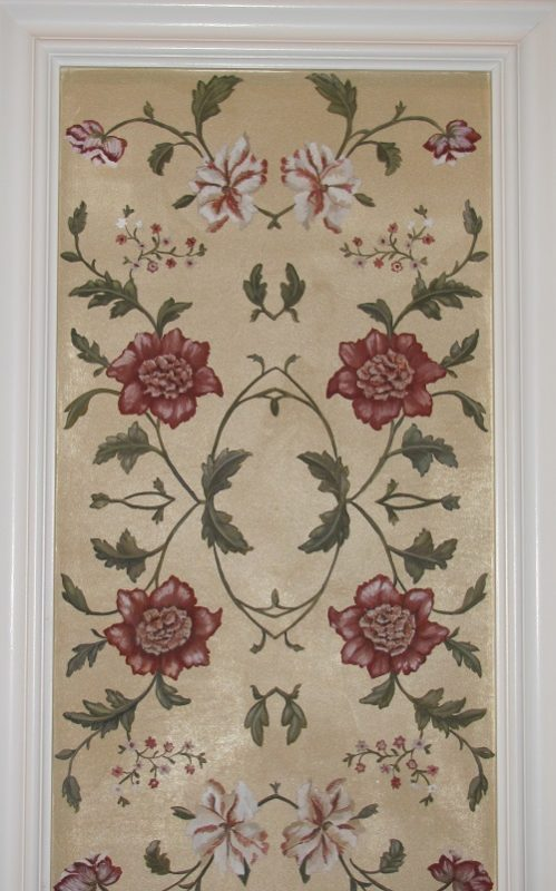 Painted floral wall art Naples Fl Art-Faux Designs