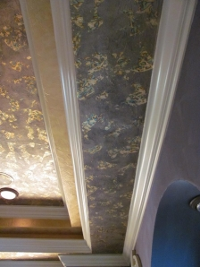 Gold Leaf Bath Ceiling2