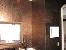 Faux Finish Foil Wall Paper