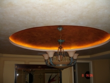 Gold Dome Ceiling Faux Finish