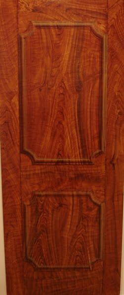 Faux walnut wood grain trompe loeil panel Naples Fl