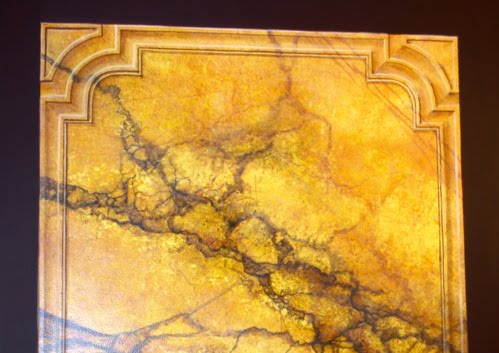 marble painted panel