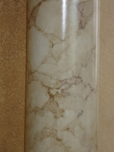 How to paint marble columns for Faux marble painting techniques