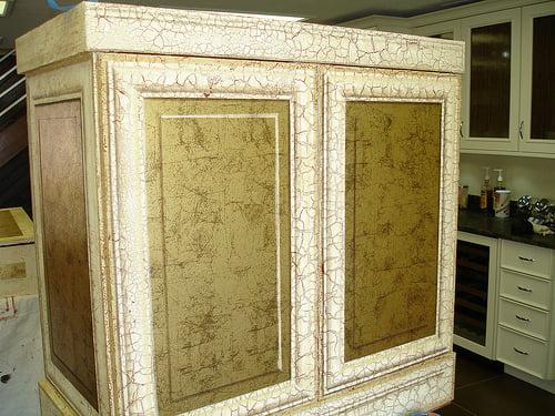 Trompe Loeil Cabinet (progress)