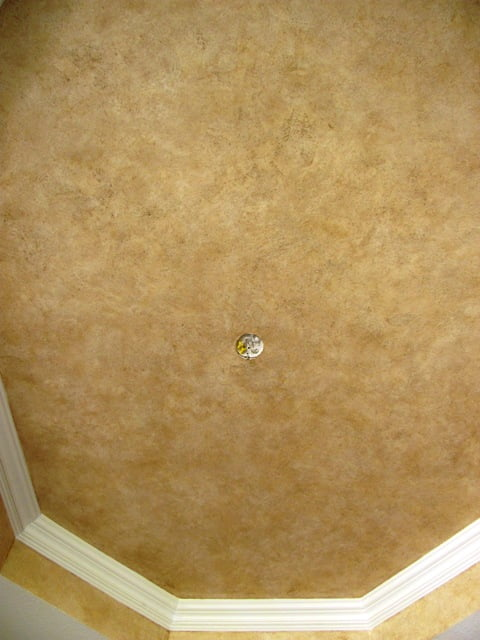 Textured plaster ceiling with Faux Effects O'Villa Sabina Art-Faux 239 417 1888