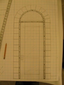 door plan for mural
