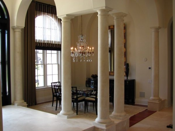 Cultured Stone Columns : Art faux wall designs stone columns