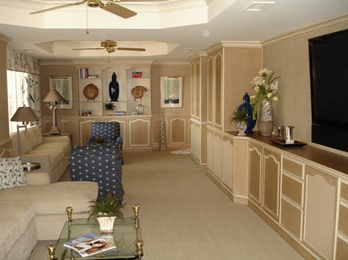 faux painted funiture cabinets, Port Royal, Pelican Bay