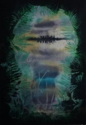 Fine Silk Fabric Wall Art Leigh Herndon