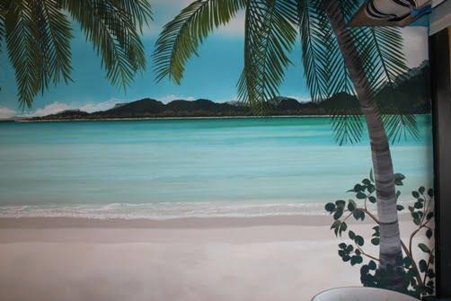 Murals in Marco Island restaurants newest attraction by artist Arthur Morehead 239 417 1888