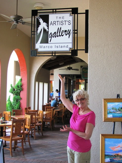 Fine Art Galleries in Marco Island Fl at The Esplanade