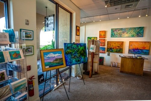 Marco Island Artists Gallery Collier County Contemporary/Modern and Landscape fine art 239 784 4436