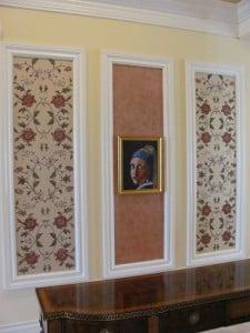 Floral Wall Art Panels by Art-Faux Designs artist Arthur Morehead Naples Fl 239 417 1888