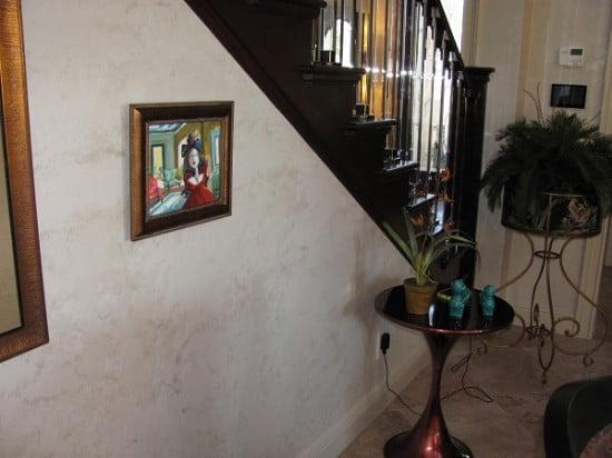 Luster Stone Plaster faux finish. Naples Fl Art-Faux Designs 239 417 1888