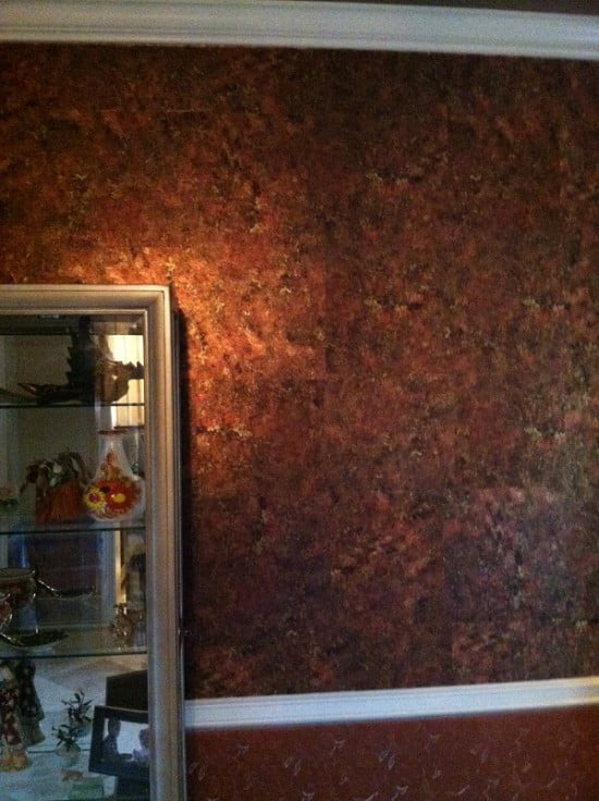 Metalic Dining Room Faux Finishing Art-Faux Designs Naples Fl
