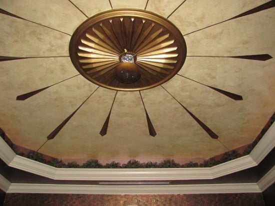 dining ceiling Luster Stone by Arthur Morehead