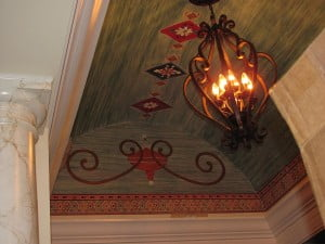 Barrel Ceiling Decorative Art by Art-Faux Designs Inc. Naples Fl