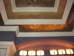 Faux finishing Naples Fl master bath ceiling by Art-Faux Designs
