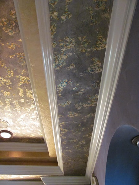 Tray Ceiling Faux Finish