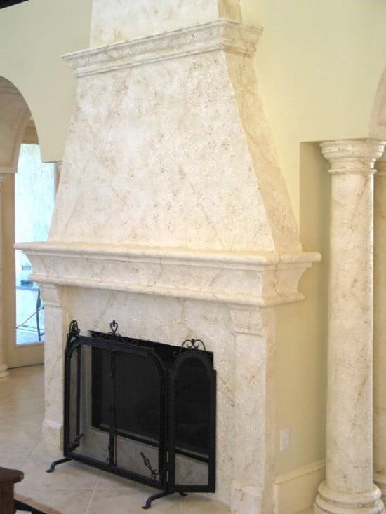 Faux painted fire place Art-Faux Designs 239 417 1888