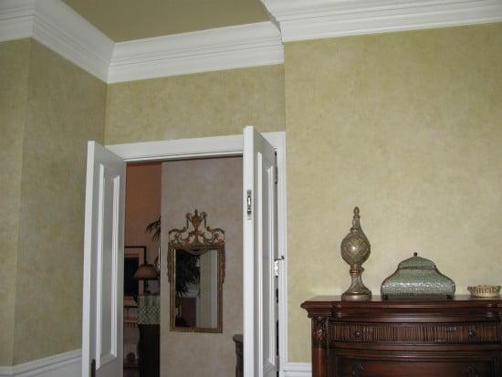 Broken color painted walls Art-Faux Designs